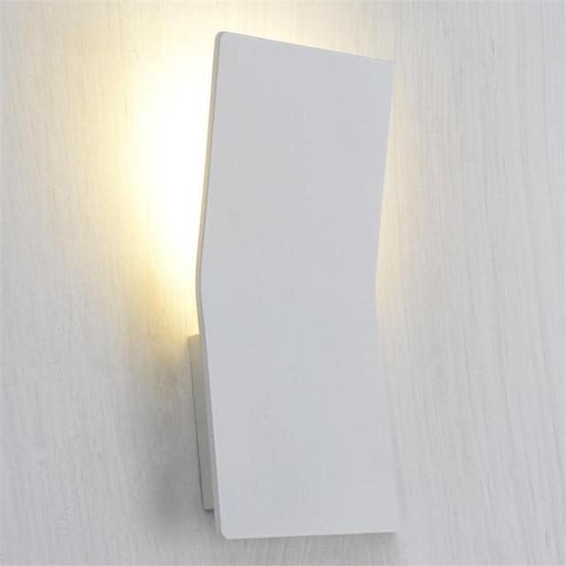 3W LED Wall Lights Aluminum Modern Sconces AC85 265V Mounted Lamps Silver Bedside Lampada