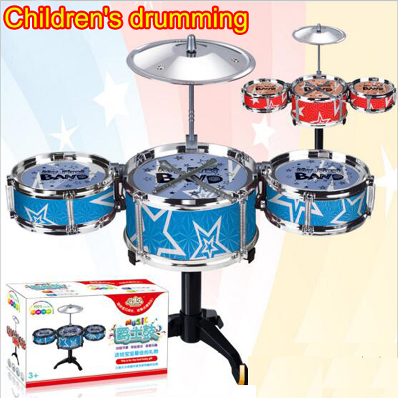 Hot Sale Jazz Drum Learning Children Toys English Tablet Puzzle Childrens Day Gift Jazz Electronic Music Early Childhood Educational Toy Learning & Education