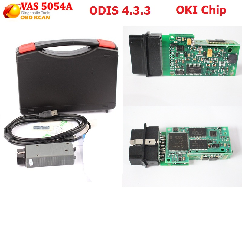 Best Quality Diagnostic Tool VAS 5054A V19 ODIS 4.3.3 with OKI Function vas5054 vas5054a Bluetooth vas5054a Free Shipping