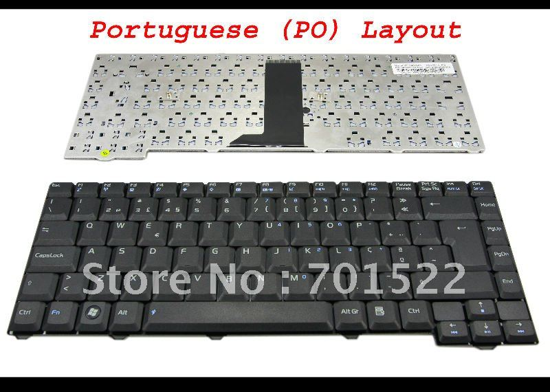 Asus Keyboard Portuguese 04GNI11KPO20