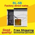 Bl-5b bl 5b bateria baterias bateria do telefone móvel para nokia 5300 5320 6120c 7360 6120ci 3220 3230 5070