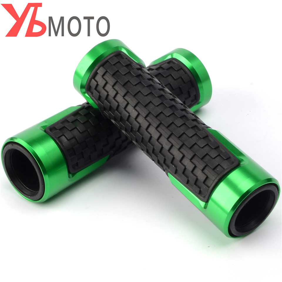 High Quality Accessories For KAWASAKI Z1000 Z900 Z650 ER6N/F Z250 ZX6R 7/8'' 22MM CNC Motorcycle Handle Grips Racing Handlebar