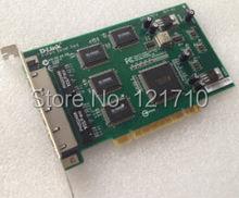 Industrial equipment NIC board 4-Port Server Card DFE-580TX REV-A3 for d-link