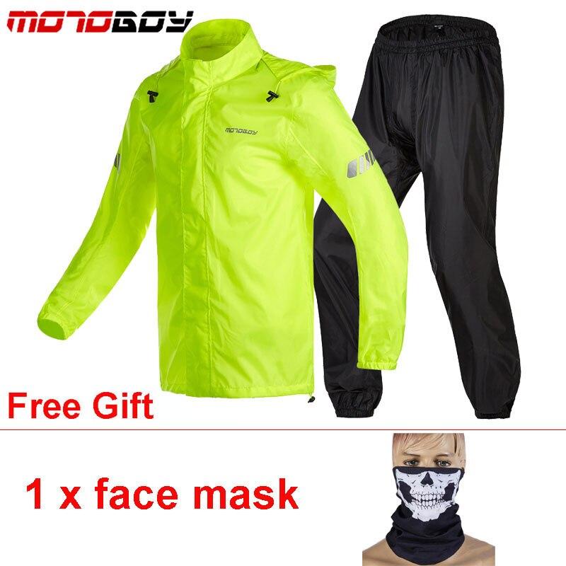MOTOBOY réfléchissant Moto imperméable veste pantalon imperméable costume Tuta Antipioggia Moto Chuva Motocicleta course équitation cyclisme