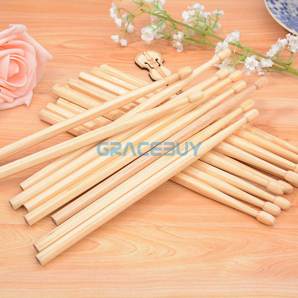 Wholesale Suck UK Wood Drumsticks 50 Pairs Pencil Log Manufacturing HB Writing Safe Non-toxic Pencil Drumsticks New