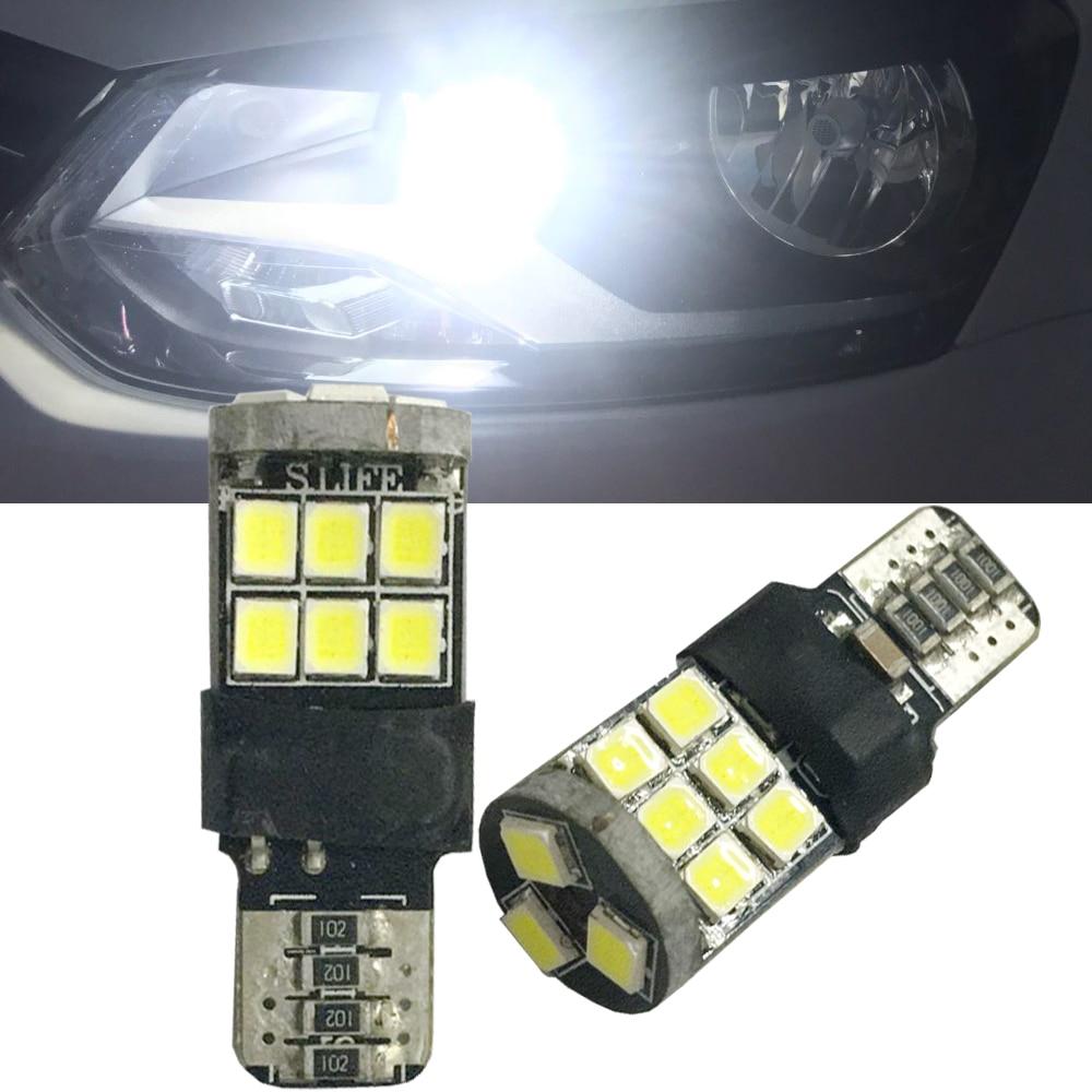 2pcs T10 LED W5W For Nissan Qashqai Tiida New Teana SYLPHY Note Almera Juke Car LED Auto Lamp 12V Clearance Parking Light bulbs