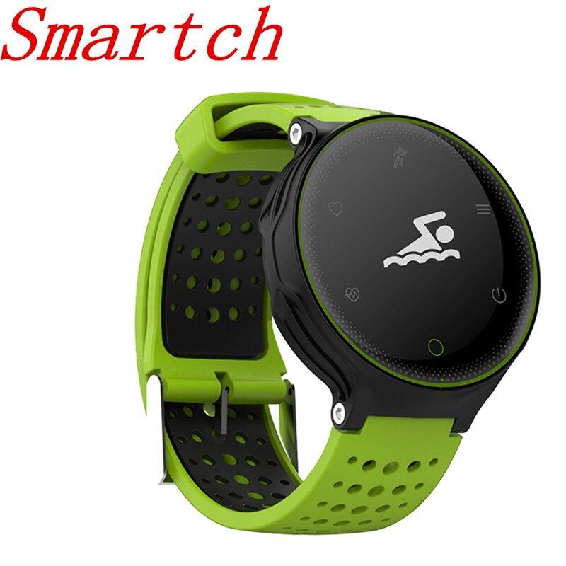 Smartch NEW X2 smart sport bluetooth band fitness bracelet Heart Rate Monitor IP68 Waterproof swimming Blood Pressure wristband