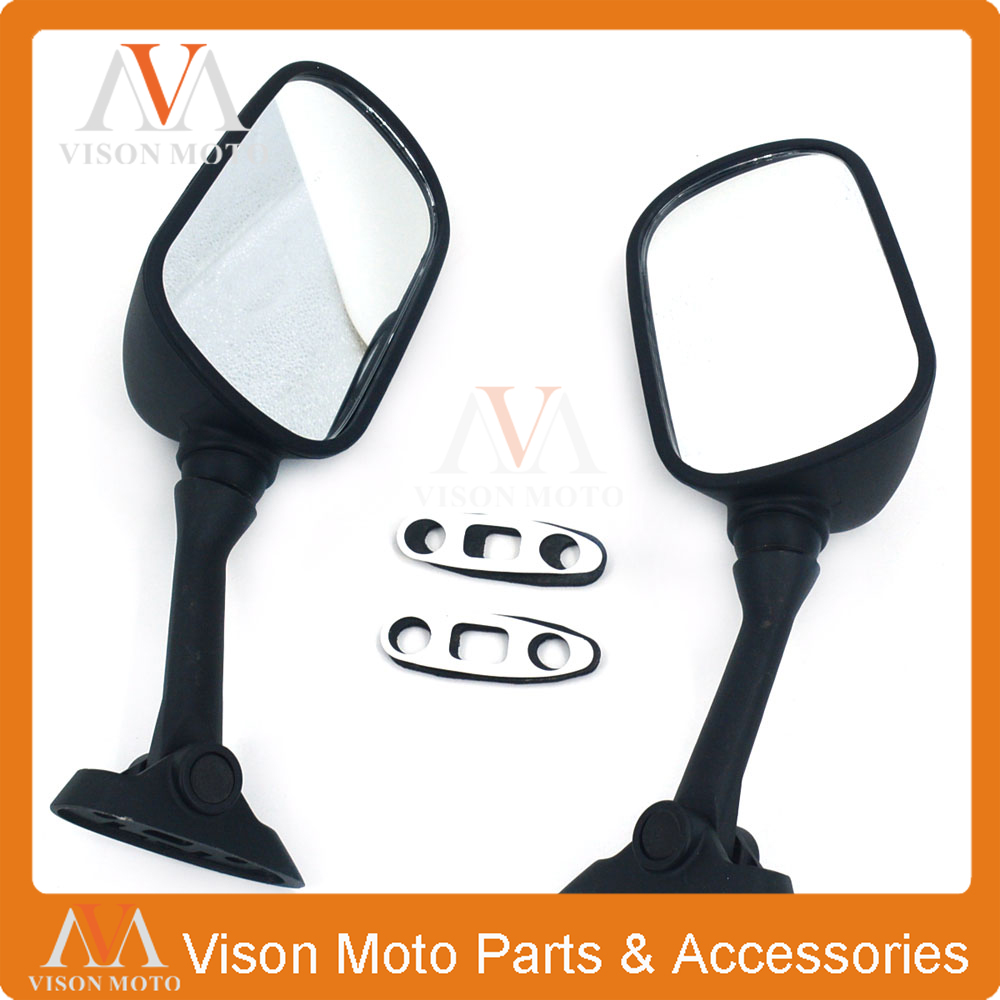 Motorcycle Side Mirror Rearview Rear View For <font><b>SUZUKI</b></font> GSXR1000 2001 <font><b>2002</b></font> GSXR600 GSXR750 01 02 2003 <font><b>GSXR</b></font> <font><b>1000</b></font> 600 750 image