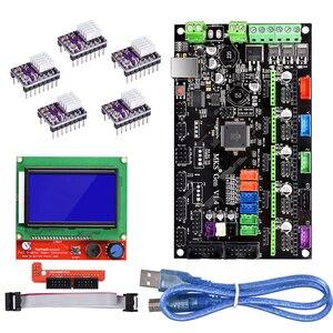 Image 2 - BIQU kit de cartes de contrôle Bigtreetech MKS Gen V1.4 avec écran LCD 12864, moteur pas à pas, TMC2130, TMC2208, A4988, DRV8825
