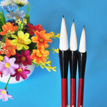3pcs/set Chinese Calligraphy Brush Weasel Hair Drawing with pen curtain Water Color Pen Art Supplies Stationary