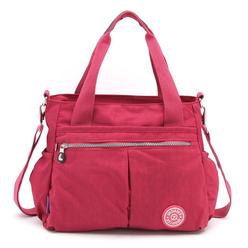 Fashion Waterproof Nylon Handbag Women bags Shoulder Bags Handbags Multifunction Girls Tote Bag Messenger Bag Bolsos Mujer 2017