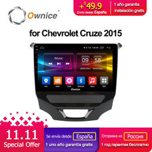 Ownice C500+ G10 android 8.1 Octa core car DVD multimedia for CHEVROLET CRUZE 2015 BT car stereo head units 32G ROM 4G LTE