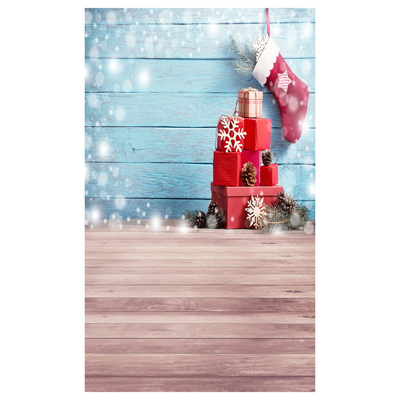 5X7FT 150X210CM Vinyl Christmas theme picture cloth photography background studio props Wooden floor background wall, light ri 5x7ft 150x210cm vinyl christmas theme picture cloth custom photography background studio props wooden floor christmas socks gi