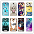 16 Styles Vew Arrived Painted Soft Silicone Phone Case For Micromax AQ 5001 Case Cover gundas For Micromax AQ5001+Free Gift