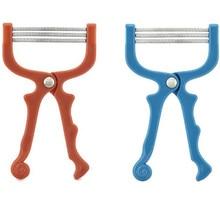 Makeup Facial Hair Epilator Hair Removal Device Plastic Resin Stainless Steel Spring Face Cosmetics Hair Shaving