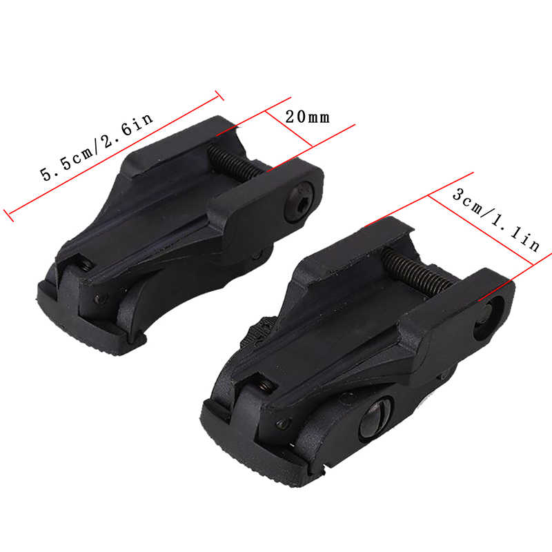 Detail Feedback Questions about 2018 Tactical Flip up Sight