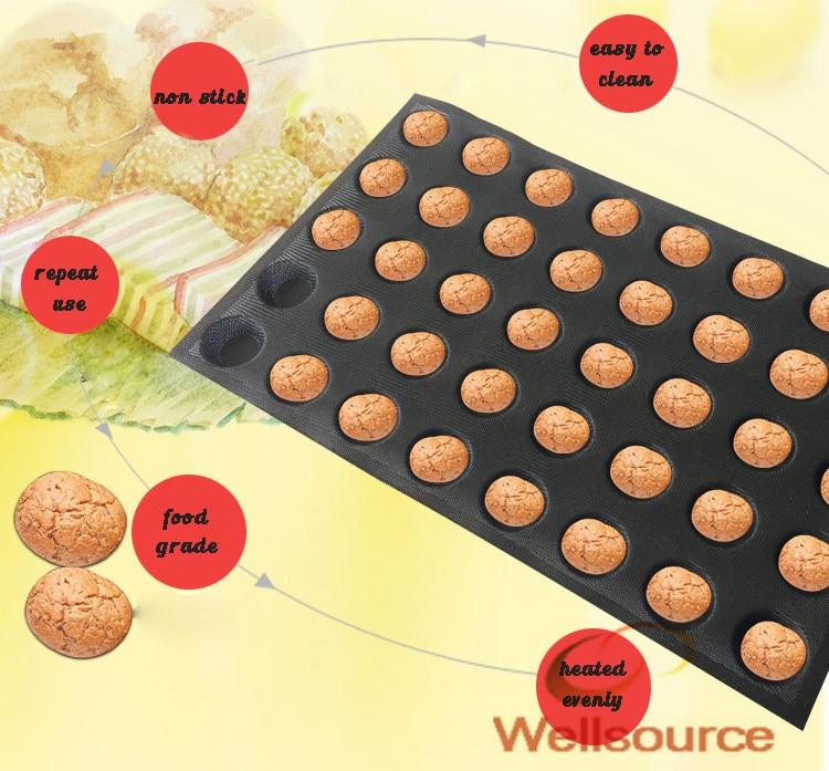 2 Zoll Durchmesser Kleine Muffinform Antihaft Perforierte Silikon
