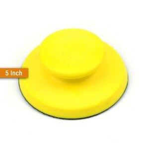 Image 4 - כל גדלים יד וו & לולאה גיבוי מלטש רפידות למירוק נייר זכוכית מלטש דיסקים עבור נגרות ליטוש ידני כלים