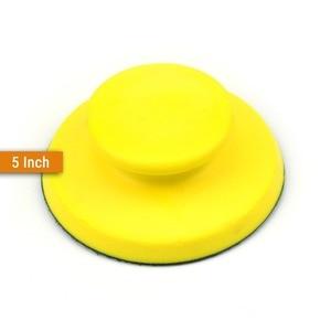 Image 4 - Tampons de ponçage à dos, à crochet et boucle, toutes tailles, disques abrasifs, papier de verre pour outils manuels de polissage
