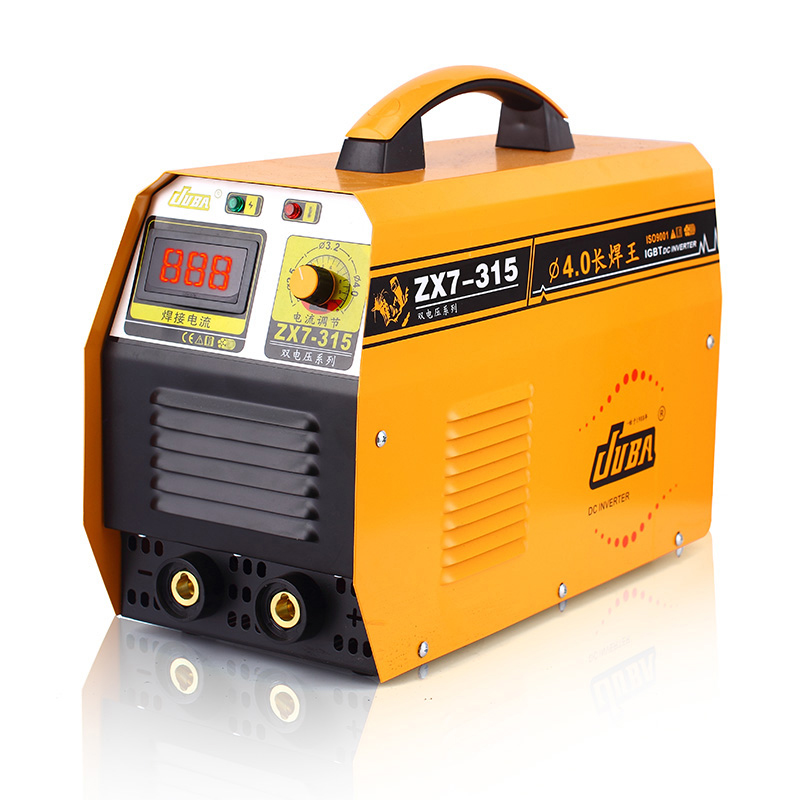 где купить Selection of professional welde ZX7-315, 220 / 380v dual voltage intelligent inverter DC copper core 3C standard welding machine дешево