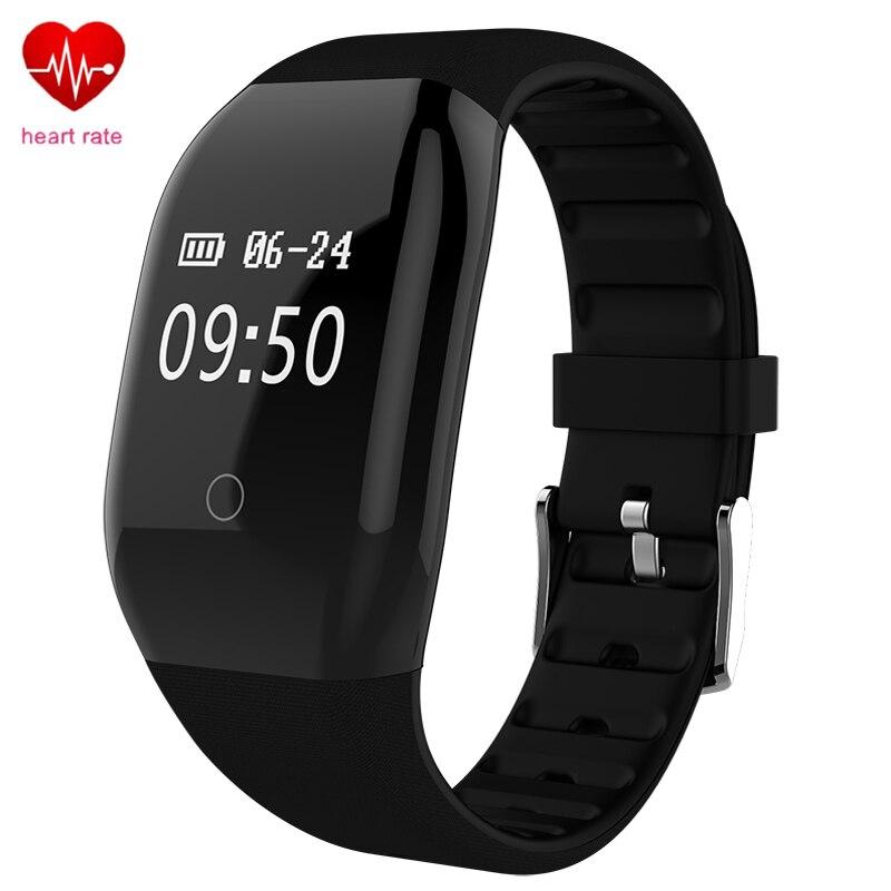 Smart Bracelet Fitness Tracker ID608 HR Sports Watch Men Women Bluetooth Band Heart Rate Monitor Alarm Clock Pedometer Wristband