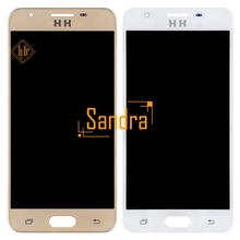 1 Unids HH Para Sam sung J5 Primer Lcd Lcd G570F G570 G570F/DS G570L G570L G570S 570Y Pantalla Lcd Táctil Digitalizador asamblea