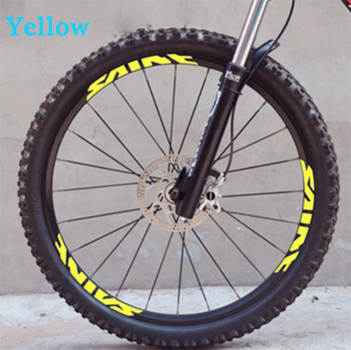 Mountain bike wheelset stickers for Shimano Deore XT M785 MTB DH rim decals