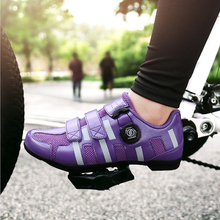 Unisex Cycling Shoes Mtb Mountain Bike Shoes Non-lock Cycling Sneakers Triathlon Racing Rubber Outsole Anti-skip Bicycle Shoes santic women cycling shoes mtb shoes mountain bike biking sneakers rotating lock matte pu chili color scarpe mtb non skip heel
