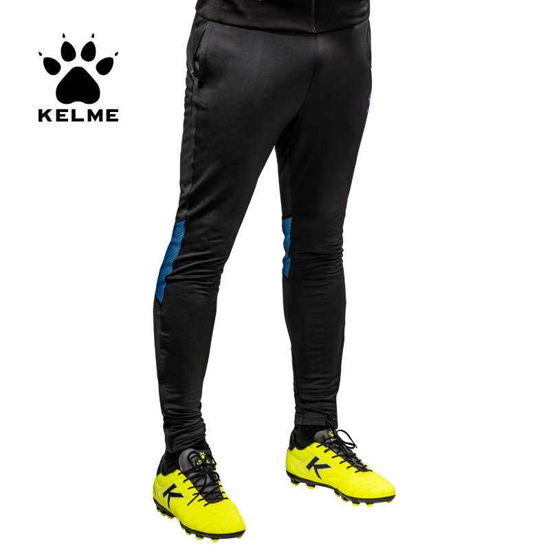 KELME Soccer entrenamiento pantalones hombres Joggers Delgado ajustado Jogging Running mallas pantalones chándales survetement fútbol 3871306