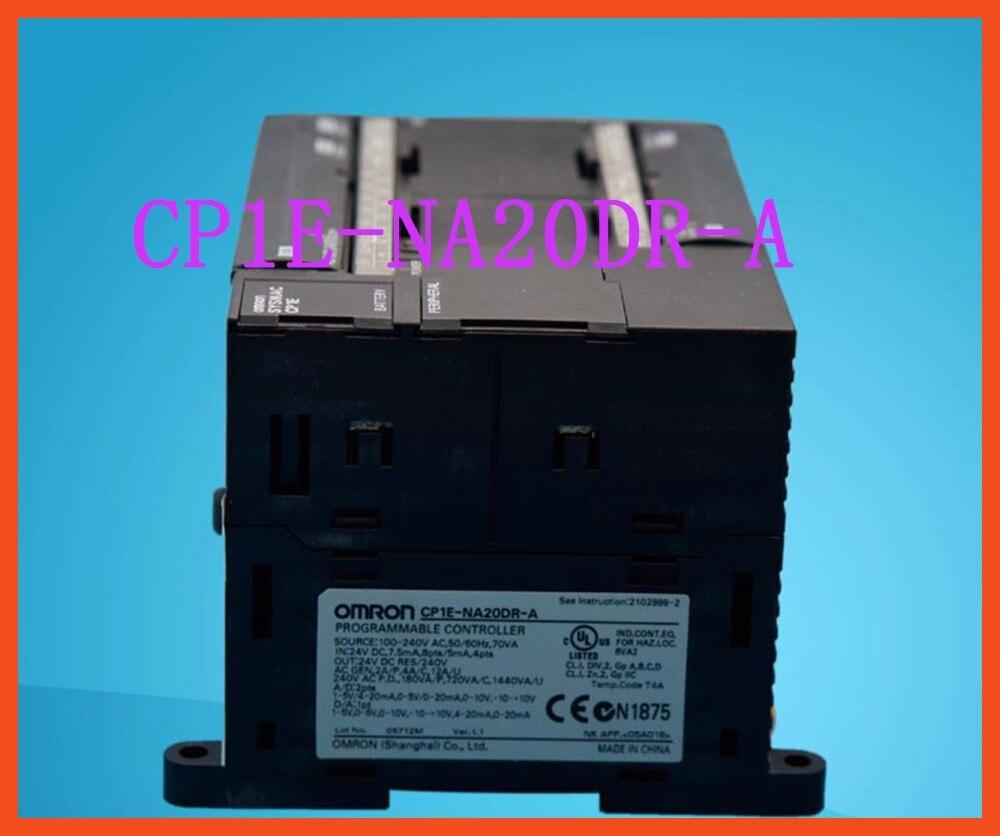 CP1E-NA20DR-A 100% New and original CP1E-NA20DR-A OMRON PLC CONTROLLER NA20DR new original cp1e n30dr a plc cp1e n30dr a programable controller