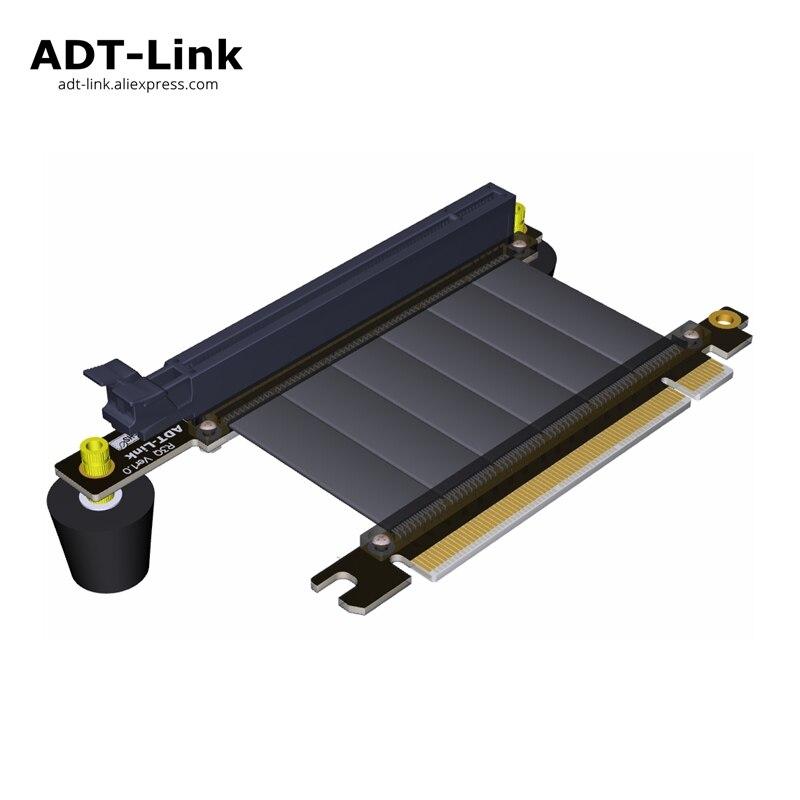 Tarjeta gráfica Cable de extensión ordenador PC incorporado vertical trabajo para GTX1080Ti GTX1080 GTX1070Ti GTX1060 GTX1050Ti