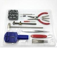 Herramienta removedor de herramientas venda de reloj relojes relojes, reloj herramientas de reparación de caja de joyería, un conjunto de herramientas FZ014