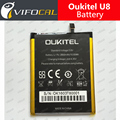 Oukitel U8 battery 100% New 2850Mah Replacement Battery For Oukitel U8 cell phone + Tracking Number