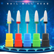 hot deal buy new ceramic nail polishing head grinding drill manicure nail drill bits milling machine electric cuticle cutter nail art tools