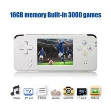 Portable Video Handheld Game Console Retro 64 Bit 3 Inch 3000 Video Game Retro Handheld Console to TV RS-97 RETRO-GANE 07