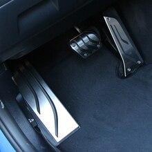 Thie2e Gas Fuel Poggiapiedi Pedale Del Freno Pad Piastra Per BMW F20 F30 F31 116i 118i 120i 125i 316i 318d 318i 320i 328i 335i 1 3 series