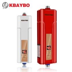 5500 w instantânea aquecedor de água da torneira aquecedor de água instantâneo aquecedor de água chuveiro elétrico frete grátis