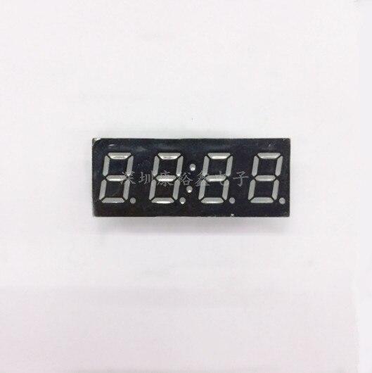 Free Ship 100PCS Common cathode 0 4 inch digital tube Clock 4 bits digital tube led