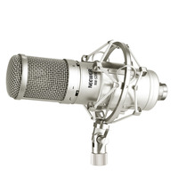 Neewer Large Diaphragm Condenser Microphone Kit for Broadcasting and Sound Recording