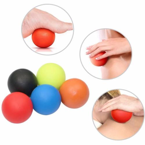 TPE Lacrosse Ball Fitness Relieve Gym Trigger Point Massage Ball Training Fascia Hockey Ball Massage Ball