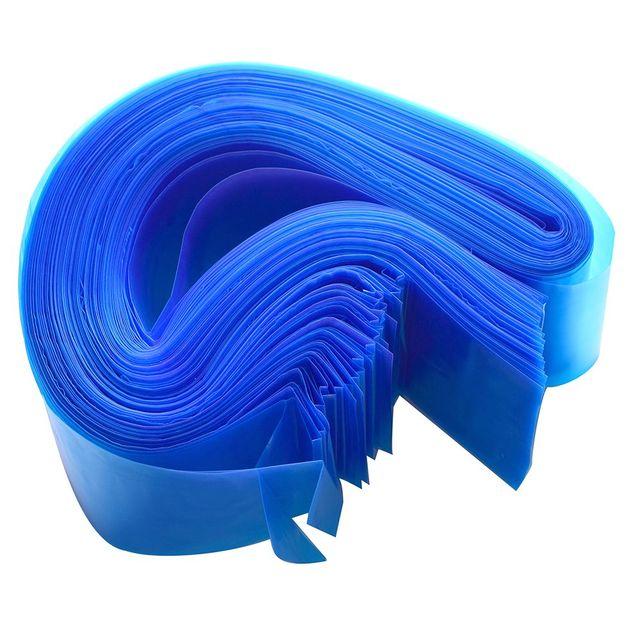 100 piezas Pro desechable plástico azul tatuaje Clip cable mangas bolsa profesional tatuaje accesorio para la máquina de tatuaje