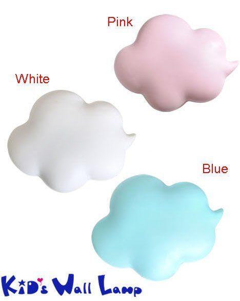 Korean Clouds Kids Wall Lamp (Good Gifts for Children)
