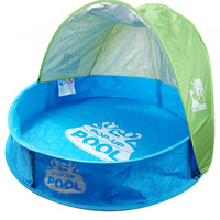 Baby Beach Tent Children Waterproof Pop Up sun Awning Tent UV protecting Sunshelter with Pool Kid Outdoor Camping Sunshade Beach