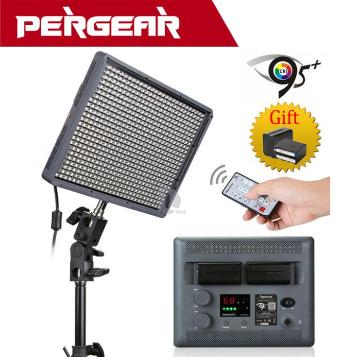 Aputure Amaran HR672C 95+ Studio Video Light LED Photo Light Adjustable Color Temperature Light for Camera +2.4G Wireless Remote