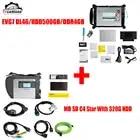 12/2019 MB Star C4 SD соединяет компактную диагностику с EVG7 планшет диагностический контроллер планшетный ПК с wifi для автомобилей и грузовиков - 1