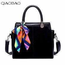 QIAOBAO Heißer Verkauf Neue 2017 Marke Handtasche Berühmte Marken Schals Ledertaschen Frauen Handtasche Mode Vintage-tasche Umhängetaschen