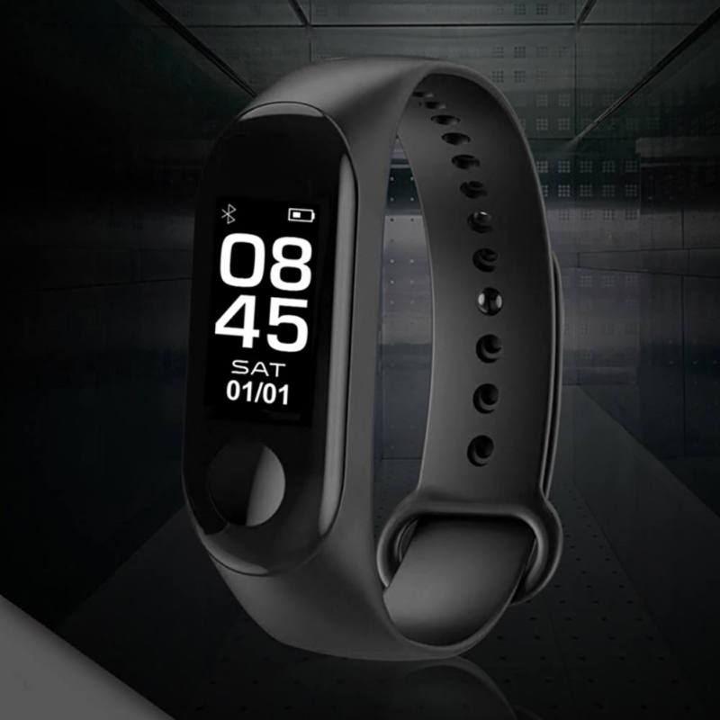 Image 4 - M3 Smart Bracelet Bluetooth Bracelet Supports Multi Language for Android /iOS with Heart Rate Sleep Monitoring Message Reminder-in Smart Wristbands from Consumer Electronics