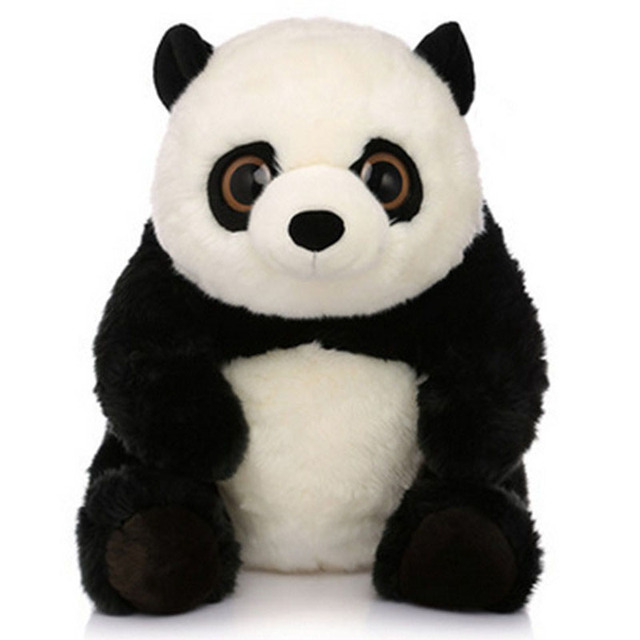 Fancytrader Pop Kawaii Plush Panda Toy Big Soft Stuffed Anime Panda Doll Gifts for Children 2 Sizes Available