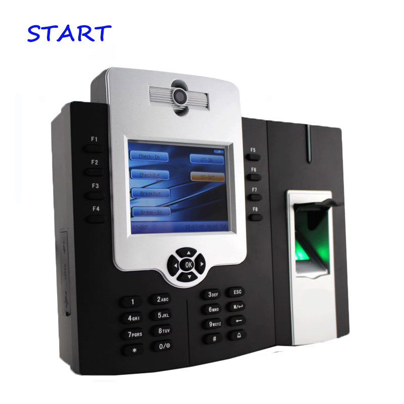 ZK ICLOCK880-H TCP/IP Fingerprint Reader Fingerprint Time Attendance And Access Control With Camera And Backup Battery