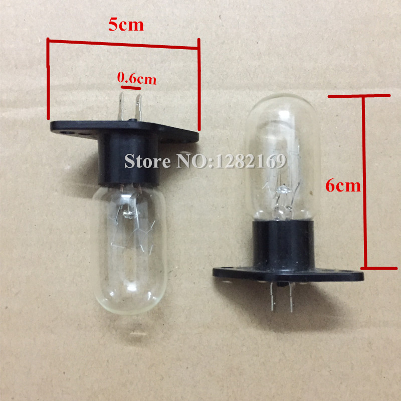 Microwave Oven Parts 240V 25W 20W Bulb T170 Lamp replacement for lg